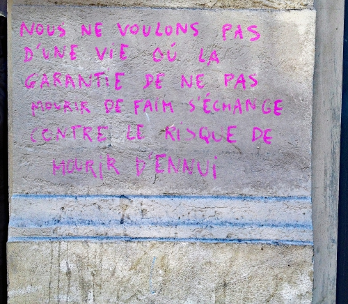 mots de la rue